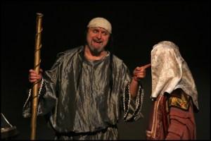 Sadok ve vtipné scéně Jiří Zonyga Sibyla královna ze Sáby