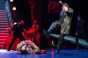 Martin Pošta jako Nick během Devastace casina