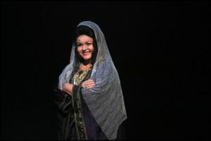Hana Křížková jako chůva Latifa Sibyla královna ze Sáby