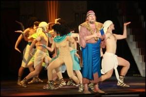 muzikál Kleopatra Divadlo Broadway Lešek Semelka