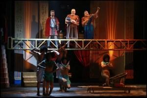 muzikál Kleopatra Divadlo Broadway Juraj Bernáth Daniel Hůlka Lešek Semelka