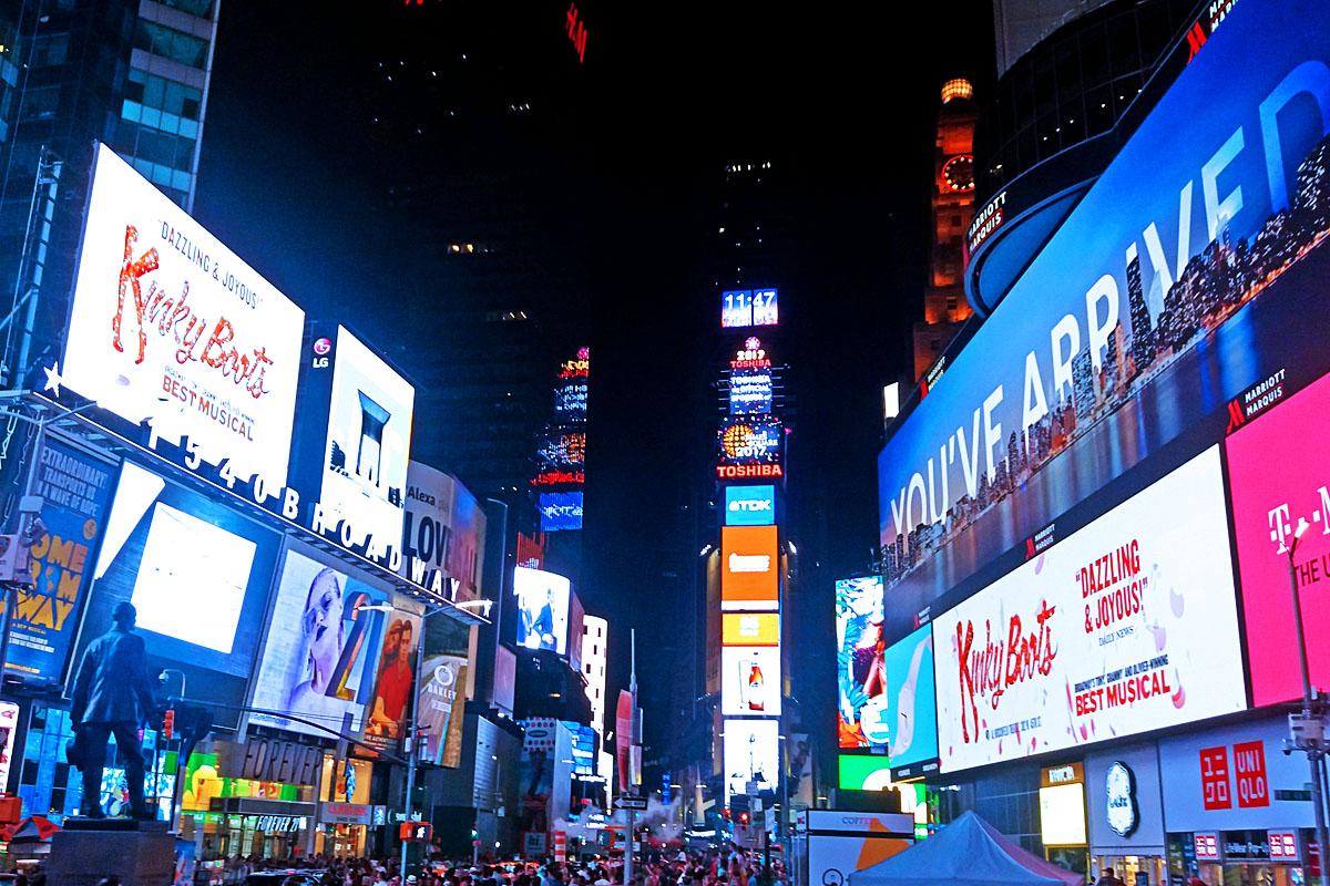 Zažít pravou Broadway