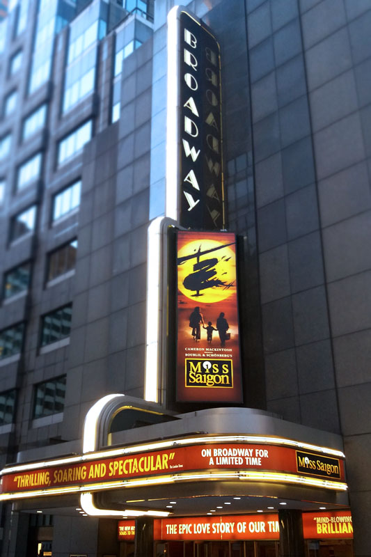 Broadwayské Divadlo Broadway
