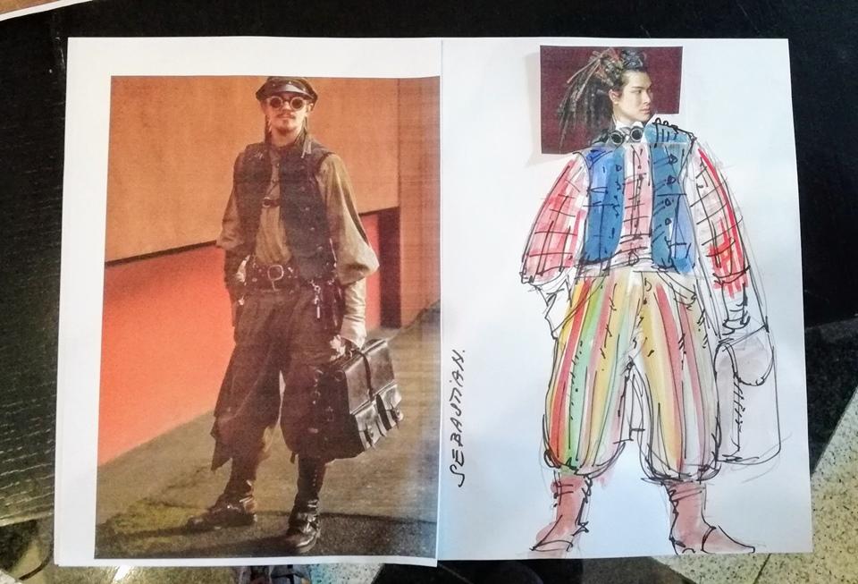 Návrh kostýmů