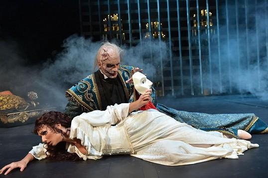 S Monikou Sommerovou v muzikálu Fantom Opery