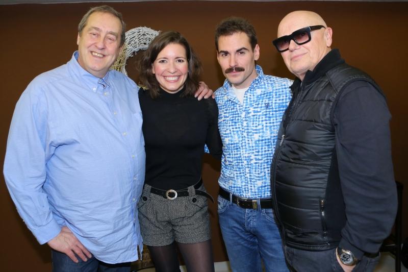 Peter Freestone, Romana Goščíková, Michael Kluch a Jiří Korn