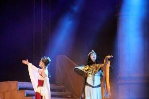 muzikál Kleopatra Divadlo Broadway Pezinok Alžbeta Bartošová Kamila Nývltová