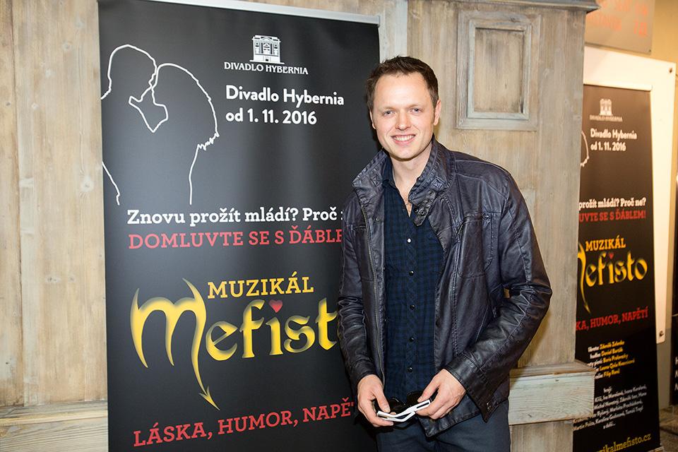Jan Kříž - muzikál MEFISTO - Divadlo Hybernia