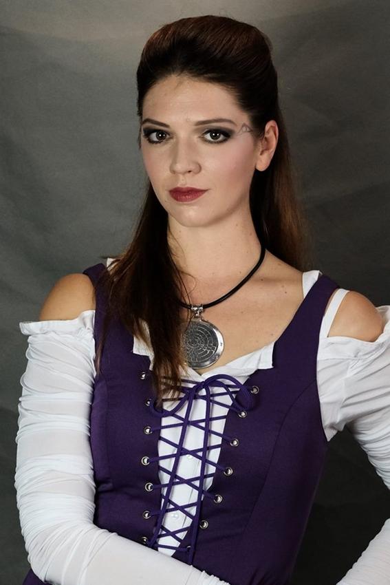 Kateřina Bohatová jako Agnes v muzikálu Krysař