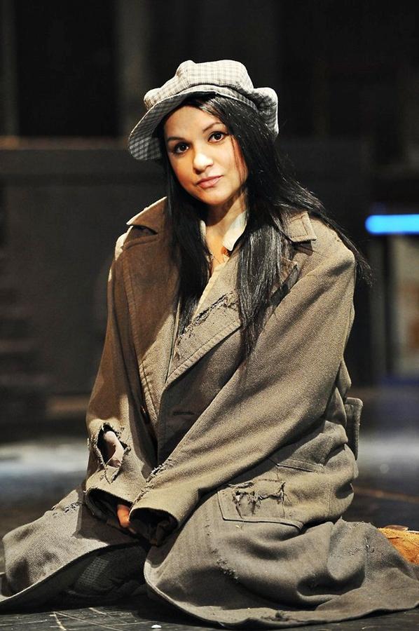 Magda Malá jako Eponie v muzikálu Bídníci