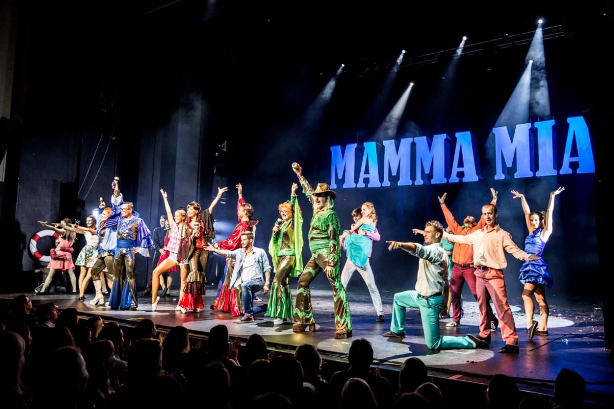 FOTOGALERIE: Premiéra letního uvedení muzikálu Mamma Mia!