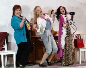 Jako Rosie v muzikálu Mamma Mia