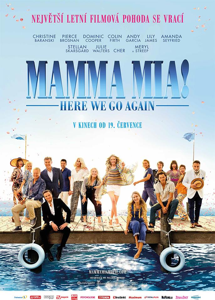 Plakát - Mamma Mia! Here We Go Again