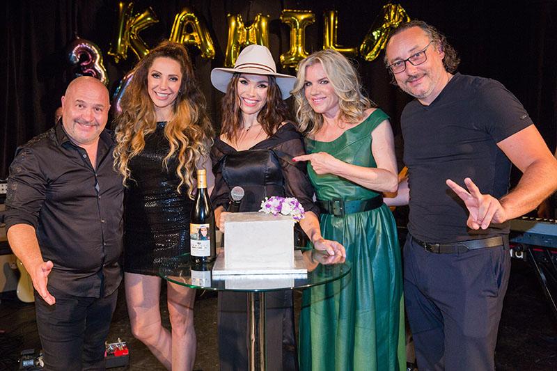 Michal David, Olga Lounová, Kamila Nývltová, Leona Machálková, Marian Vojtko