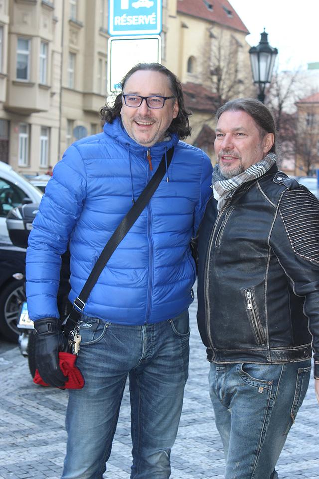 Marian Vojtko a Petr Kolář