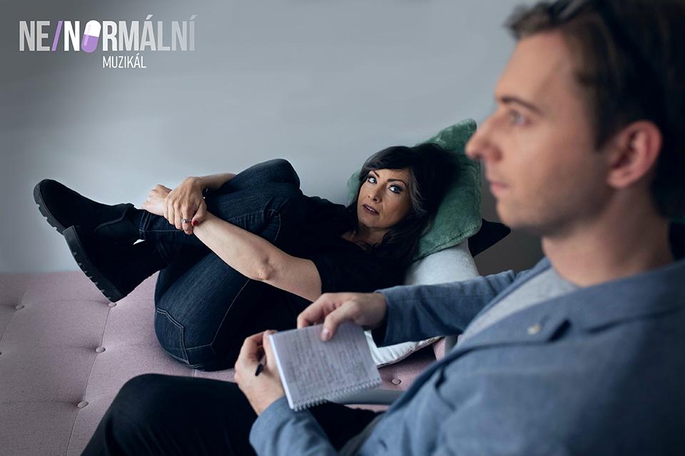 Daniela Šinkorová a Tomáš Vaněk Ne/normální muzikál Next to Normal