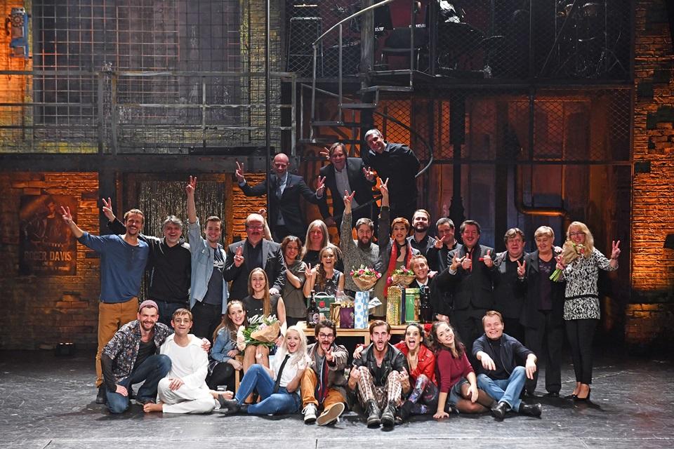 RENT - společné foto po premiéře