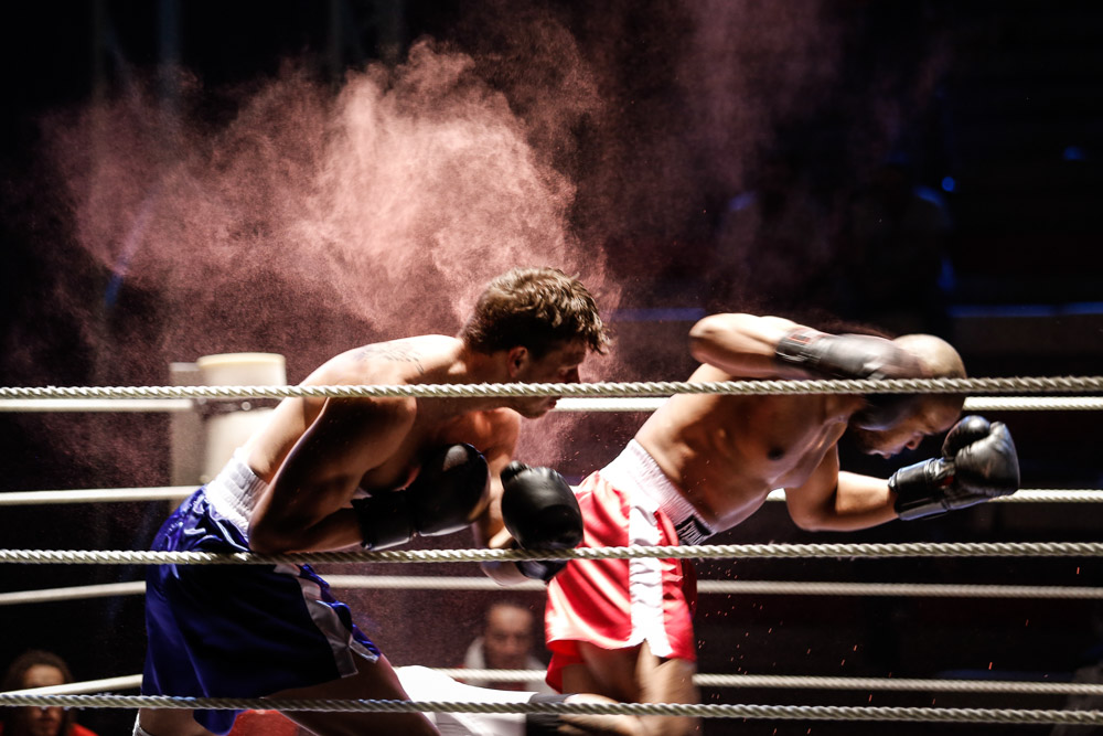 Choreografie boxu je v závěrečném zápasu opravdu efektní