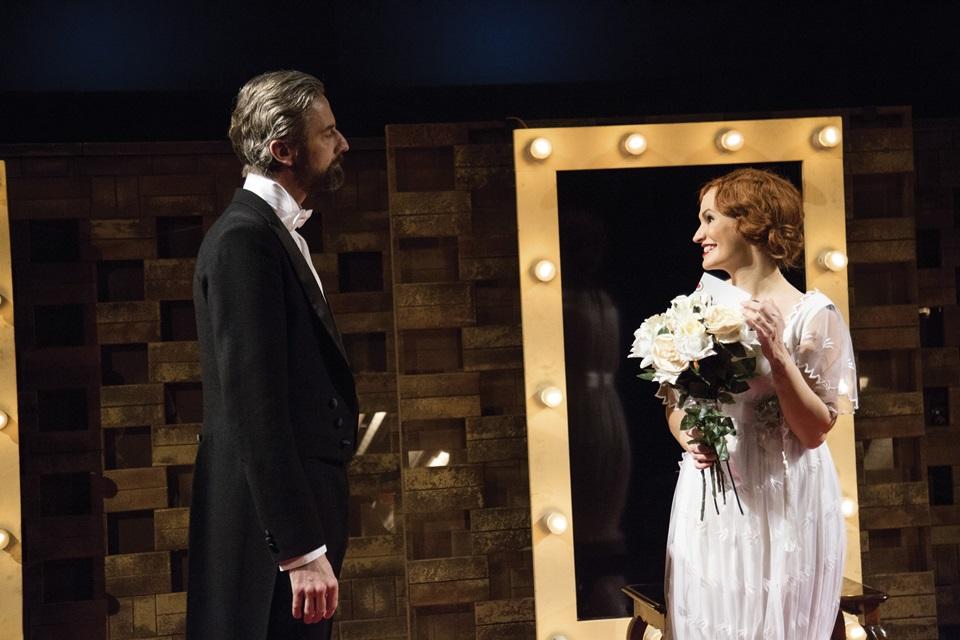 Roman Zach a Monika Absolonová ve Funny Girl