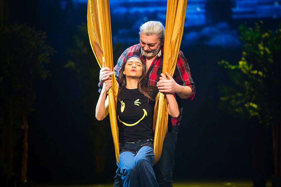 Eva Burešová a Daniel Hůlka