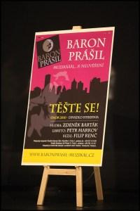 Plakát k inscenaci (v taktéž nefinální verzi)