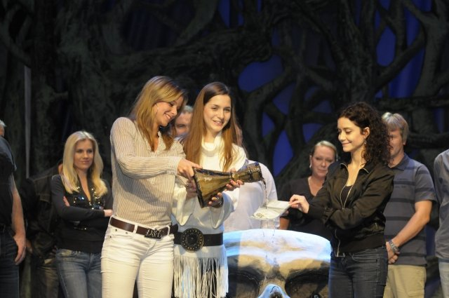 CD pokřtily všechny tři Mariany (foto www.divadlokalich.cz)