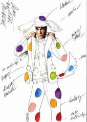 Návrh kostýmu - dalmatin (Lucie Loosová)