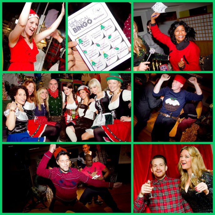 Christmas parties, Indeedy Musical Bingo, London, New York, Musical Bingo, Christmas, Indeedy Bingo