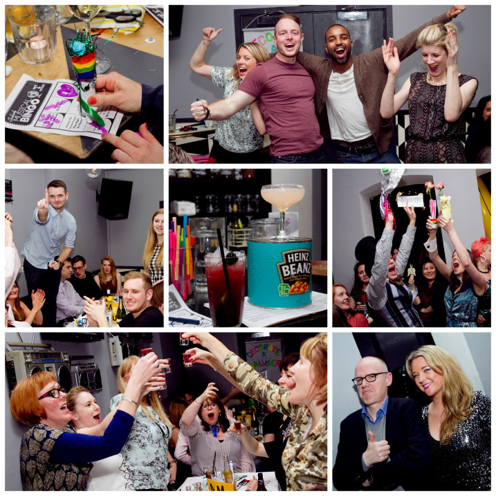 Indeedy Musical Bingo at Drink, Shop and Do Collage