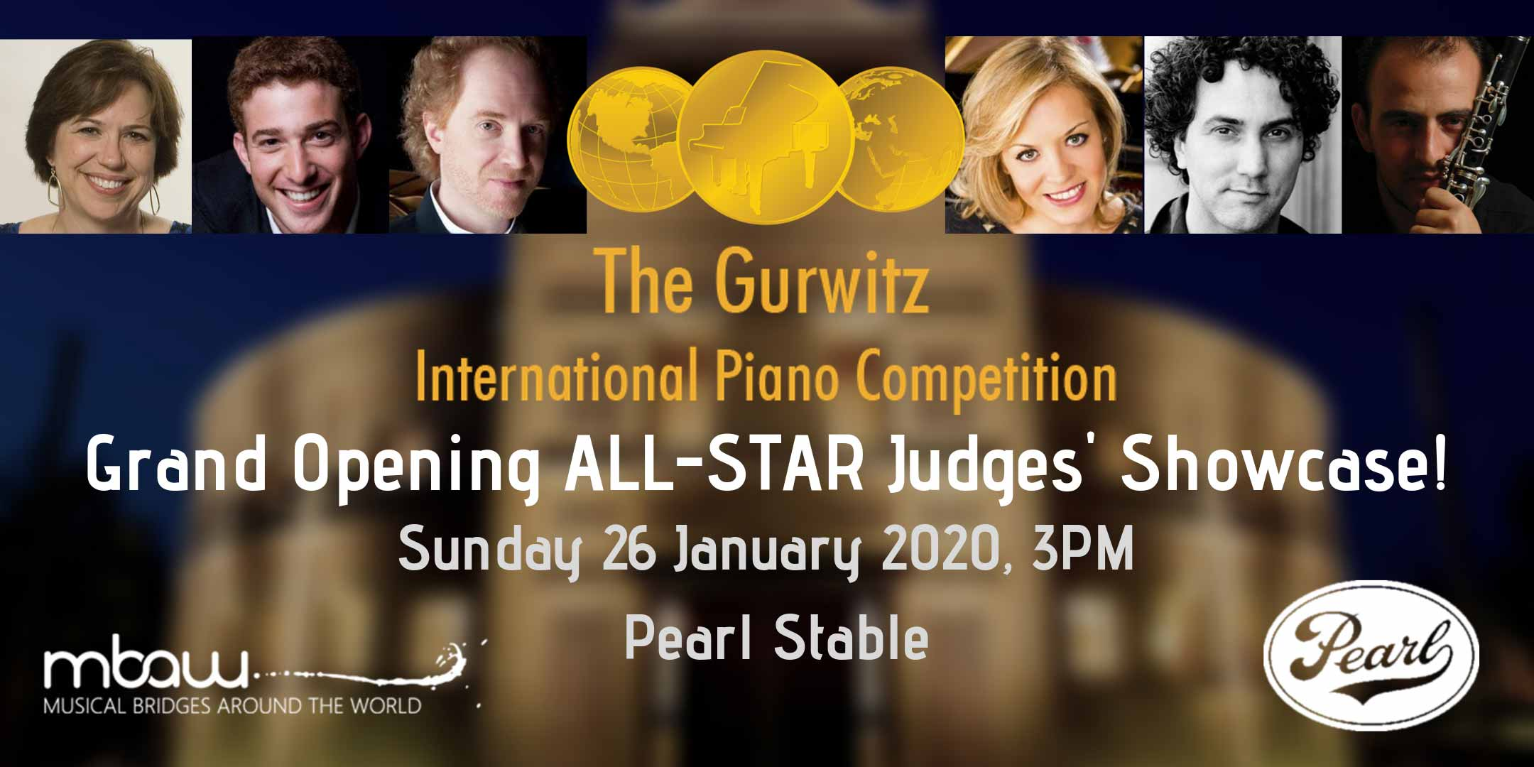 Grand Opening All Star Judges Showcase Free Open To Public Musical Bridges Around The World