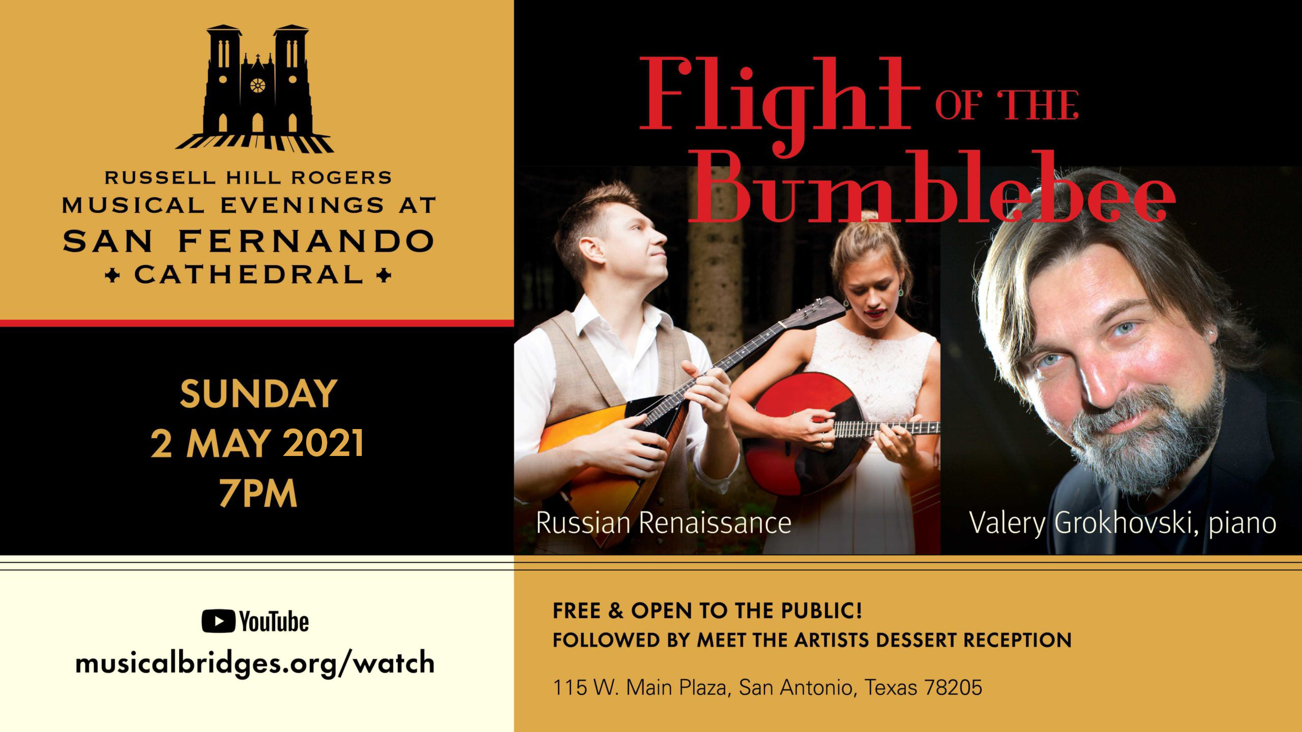 Flight Of The Bumblebee Musical Evenings At San Fernando Cathedral Musical Bridges Around The World
