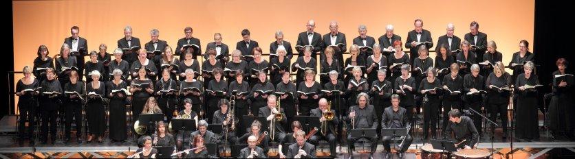 Le choeur Musica Mediante - Concert La Création Haydn - Déc 2016