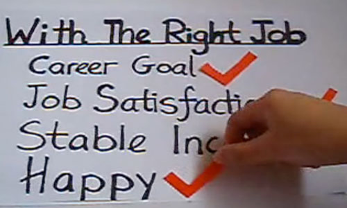On Choosing The Right Job \u2013 Conditionally Accepted
