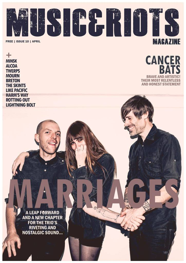 ISSUE 10 Featuring: Marriages, Breton, Lightning Bolt, Cancer Bats, Mourn, Lola Colt, Rotting Out, Like Pacific, Minsk, Alcoa, Twerps, The Skints, Harm's Way, Metronomy, Enablers, Karnivool, Enter Shikari, Mark Lanegan, Ceremony