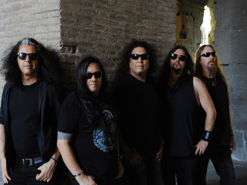 ROME, ITALY- JULY 27, 2016: Testament photographed at The Roman Collisseium in Rome, Italy on July 27,2016. © Gene Ambo