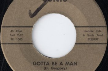 The Music Men Of Our Generation - Gotta Be A Man, Sonic 45