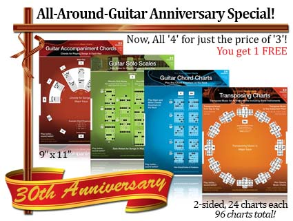 Guitar Chords and Solo Pack Ron Greene Music Dial Charts