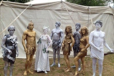Living Statues In London