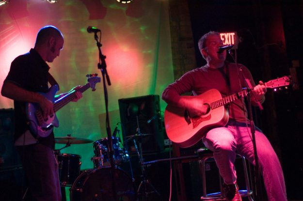 That's Josh the bass player and myself performing in Minneapolis.