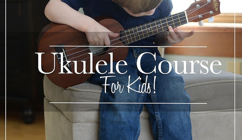 Review: Ukulele Course for Kids (with a giveaway)