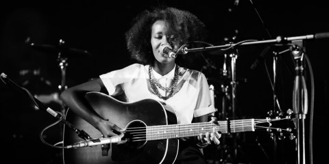 Mirel Wagner performs at Culture Collide 2015