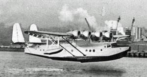 Pan-Am flying boat Samoan Clipper