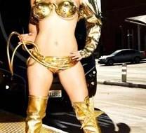 Pride Vanity gold bikini