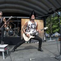 Escape the Fate Live Photos Uproar Festival in Gilford, NH