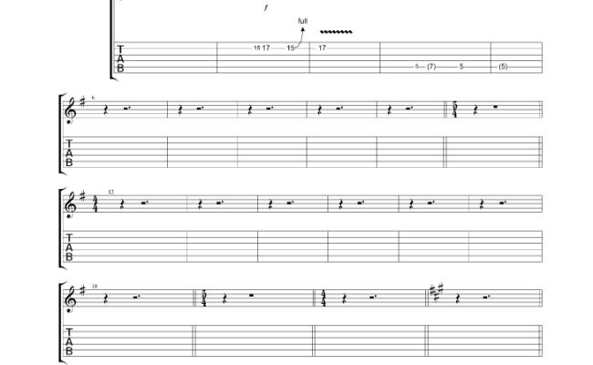 Nantucket Sleighride Guitar Pro Tab By Mountain @ Musicnoteslib.com