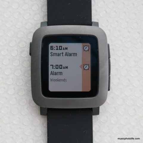 Pebble Time Timeline Calendar