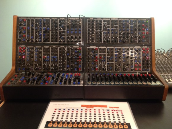 "The ""Black Serge"" synthesizer in the Modular Synth Studio"