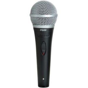 Вокальный микрофон SHURE PG58-XLRB