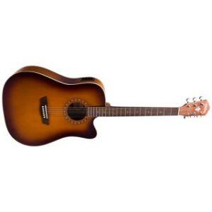 Washburn  WD7 SCEATBM Акустическая гитара