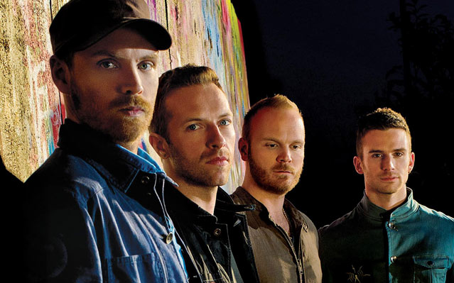 Coldplay - band picture - 2012